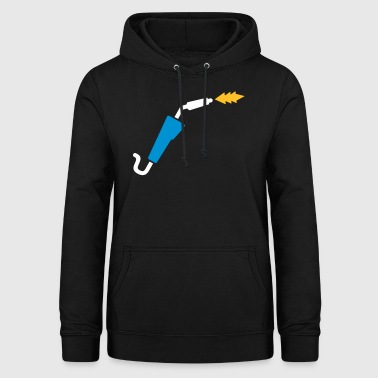 Welding machine for welders - Women's Hoodie