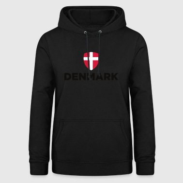 Drapeau national du Danemark - Sweat à capuche Femme