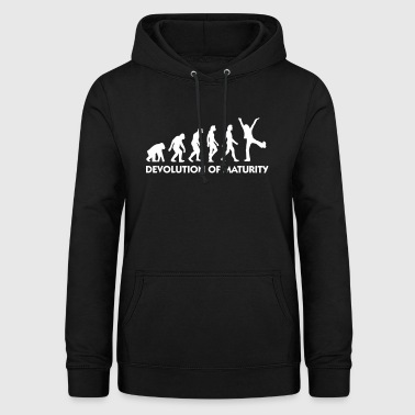 The Evolution Of Maturity - Women's Hoodie