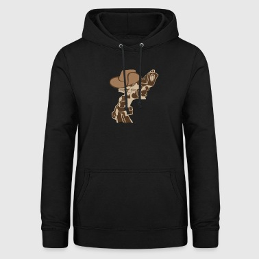 Funny gangster cat - cats gift ratchet - Women's Hoodie