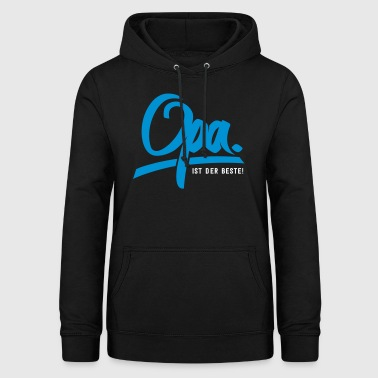 Grandpa is the best - Women's Hoodie