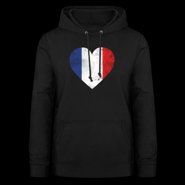 Gift France flag french flag - Women's Hoodie