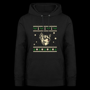 Chinese Crested Crested Dog Christmas Gift - Women's Hoodie