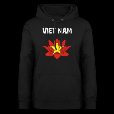 Nation utforming Viet Nam Lotus 3Y94zE - Hettegenser for kvinner