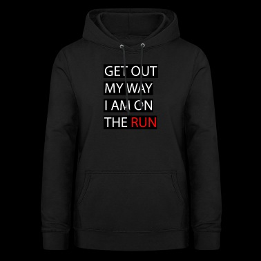 ON THE RUN - Women's Hoodie