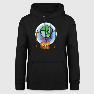 Tag der Erde Stop Global Warming - Frauen Hoodie