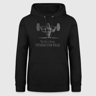 The Daily Pump Fitness Gym Wear - Women's Hoodie