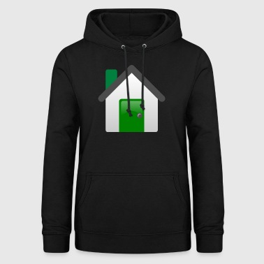 building house homes architektur haus gebaeude237 - Frauen Hoodie