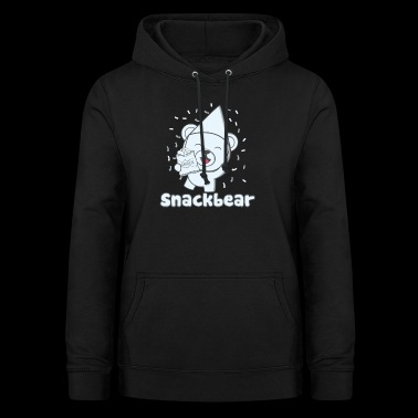 Snack bear / snack bear with hat - Women's Hoodie