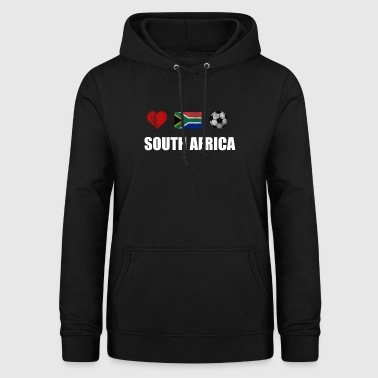 Shirt Afrique du Sud Football - Afrique du Sud Football - Sweat à capuche Femme