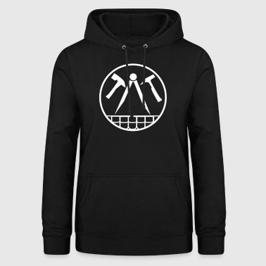 Roofing | The Hammer | Artisan roof - Women's Hoodie