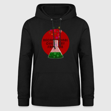 Recreational Chemistry Fan Club (red) - Women's Hoodie