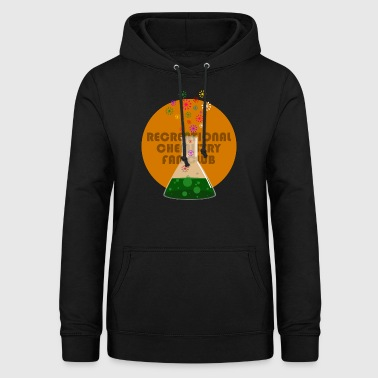 Recreational Chemistry Fan Club (orange) - Women's Hoodie
