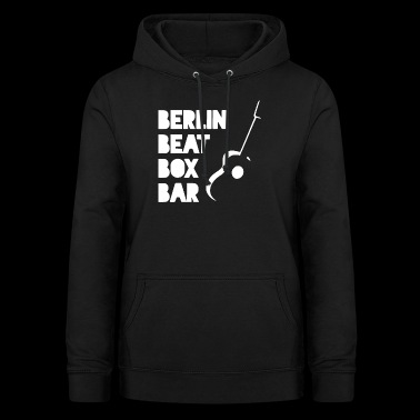 BERLIN BEAT BOX BAR - Frauen Hoodie
