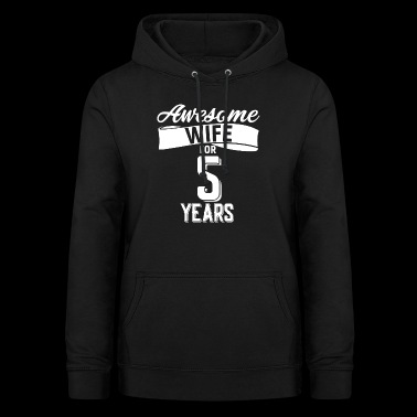 Wife's wedding day - Women's Hoodie