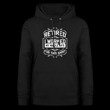 Retirement pensioner pension pension grandpa grandma gift - Women's Hoodie