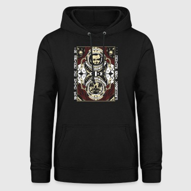 Science fiction astronaut spaceman cosmonaut - Dame hoodie