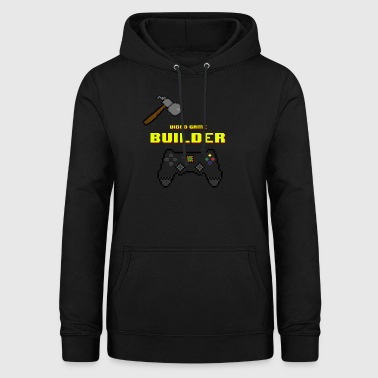 Video Game Builder! - Bluza damska z kapturem