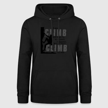 Klatring Great Heights - Dame hoodie