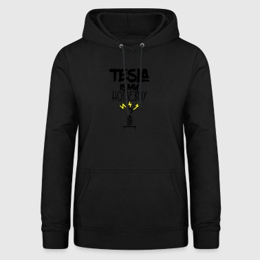 Tesla is my homeboy - Frauen Hoodie