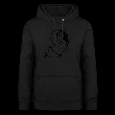 transparante chain - Vrouwen hoodie