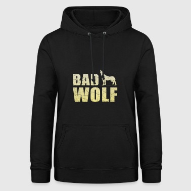 Bad wolf gift pack howling wolf pack - Women's Hoodie