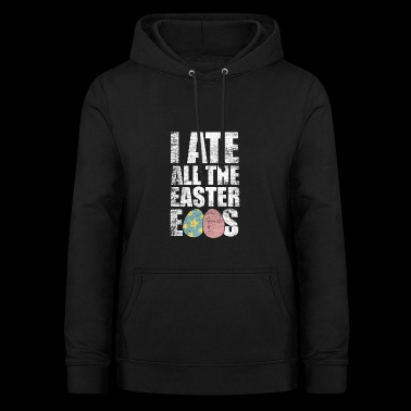 Easter eggs eat gift wolverine hunger crooks - Women's Hoodie