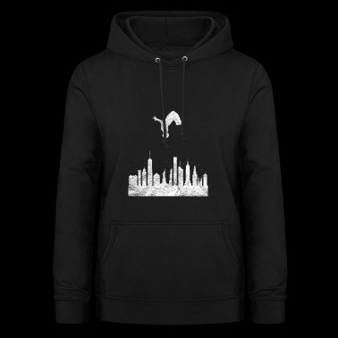 Parkour Gift Le Parcour Freerunning Backflip - Women's Hoodie