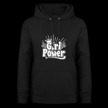 Girl Power - Girl Power - Bluza damska z kapturem