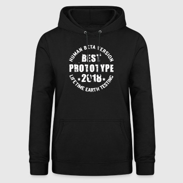 2018 - The birth year of legendary prototypes - Women's Hoodie
