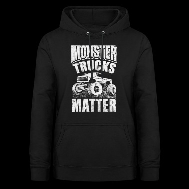 Monster Trucks Matter - Luvtröja dam