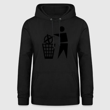 To cast a vote for the trash - Women's Hoodie