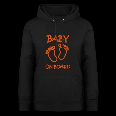 Baby on board - Women's Hoodie