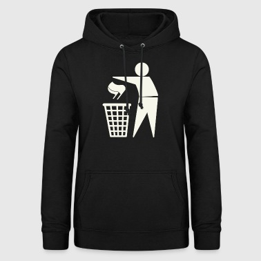 Against Antifa - Women's Hoodie