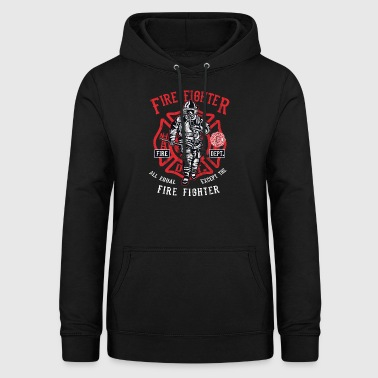 EXCEPT THE FIRE FIGHTER - Firefighter Shirt - Women's Hoodie