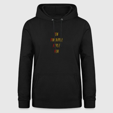 pen-pineapple-apple-pen - Women's Hoodie