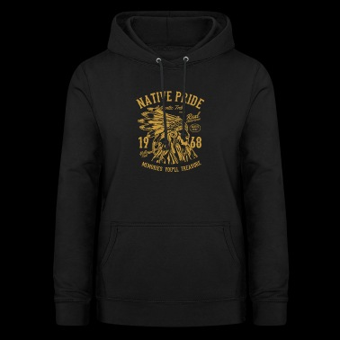 Indianere indianere - Dame hoodie