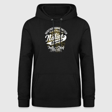 Native American Indian Chief - Women's Hoodie