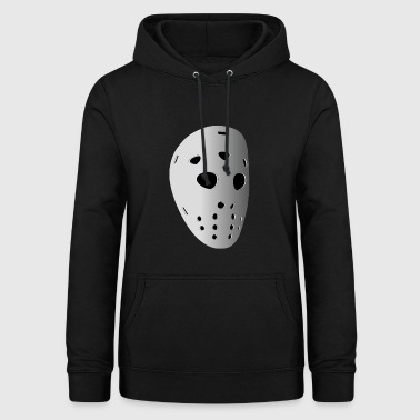 Ice Hockey Mask - Women's Hoodie