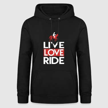 Live Love Ride Live Love Ride Horse Riding Club - Women's Hoodie