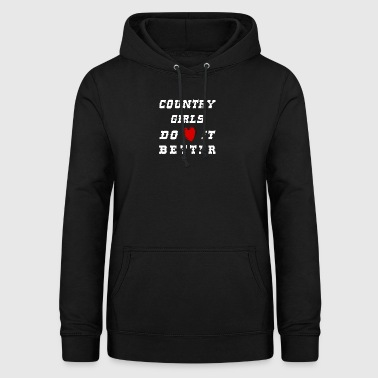 country girls - Frauen Hoodie