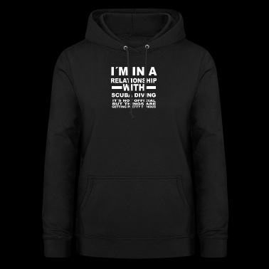 relationship with SCUBA DIVING - Frauen Hoodie