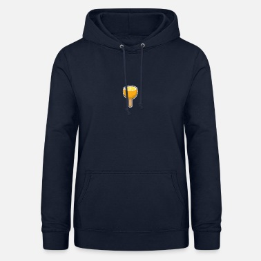 Bâton Orange sur un bâton - Sweat à capuche Femme