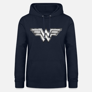 Wonder Woman DC Comics Wonder Woman Logo En Pierre - Sweat à capuche Femme