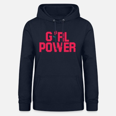 Girl Power Girl Power. Girl Power Gaver. - Dame hoodie