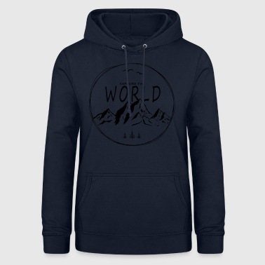 Explore the world - Frauen Hoodie