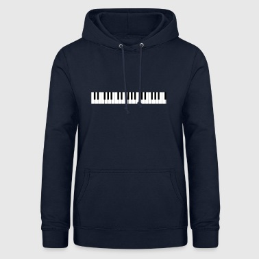 The keyboard of the piano - Women's Hoodie
