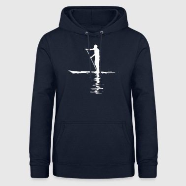 Stand Up Paddling SUP Shirt - Frauen Hoodie