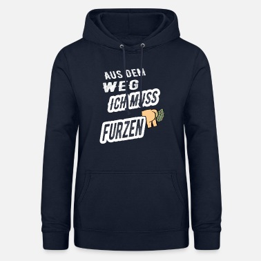 Smog Out of the way I have to fart - Women's Hoodie
