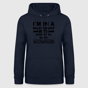 forhold med MARCHING BAND - Dame hoodie